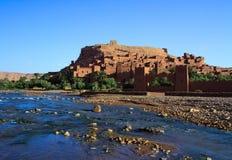 moroccan traditionellt för casbah Arkivfoto