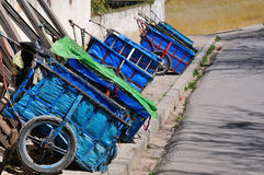 Moroccan Trolleys Stock Photography