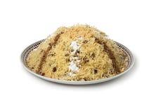 Moroccan vermicelli seffa Stock Image