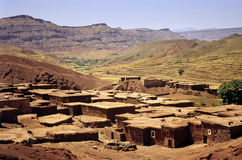 Moroccan village Stock Image