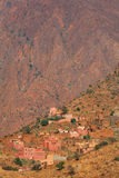 Moroccan village Royalty Free Stock Photos