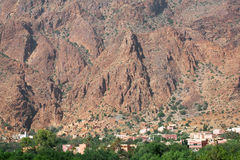 Moroccan village Stock Images