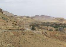 Moroccan village Royalty Free Stock Photo