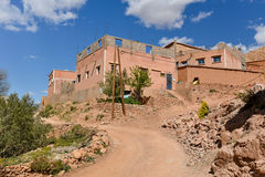 Moroccan village Royalty Free Stock Images