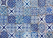 Moroccan vintage tile background Stock Images