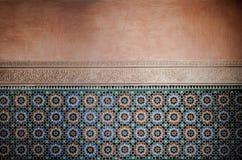 Moroccan vintage tile background Stock Image