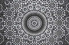 Moroccan vintage tile background Royalty Free Stock Images
