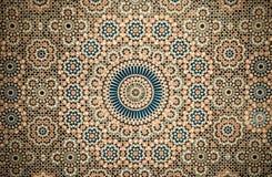 Moroccan vintage tile background stock illustration
