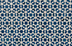 Moroccan vintage tile background. Moroccan tile background traditional azulejos style Royalty Free Stock Photo