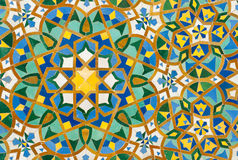 Moroccan vintage tile background. Moroccan tile background traditional azulejos style Stock Photos