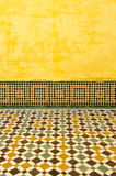 Moroccan vintage tile background Royalty Free Stock Photo