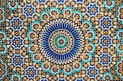 Moroccan vintage tile colorful background Royalty Free Stock Images