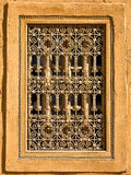 Moroccan Window. Details of a window in a moroccan house Royalty Free Stock Photography