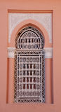 Moroccan window in Arabic Style royalty free stock image