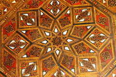 Moroccan wood pattern Stock Photos