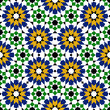 Moroccan zellige seamless Royalty Free Stock Photos