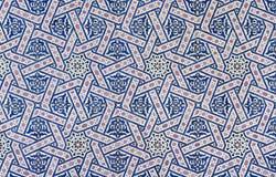 Moroccan Zellige tile Stock Image