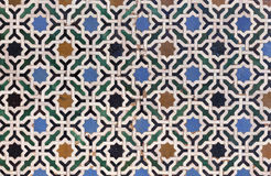 Moroccan Zellige tile royalty free stock photo
