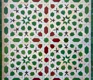 Moroccan Zellige Tile Pattern Stock Images
