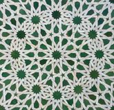 Moroccan Zellige Tile Pattern Royalty Free Stock Image