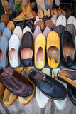 Moroccans slippers Stock Photography