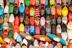 Moroccans slippers Stock Images