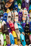 Moroccans slippers Royalty Free Stock Photography