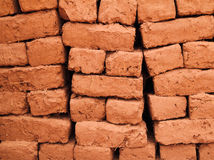 Morocco, Adobe mud building bricks Stock Photos