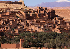 Morocco  Ait Ben Haddou and High Atlas Stock Images