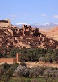 Morocco Ait Ben Haddou Ksar Stock Image