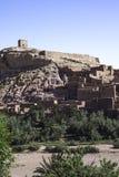 Morocco ait ben haddou ksar. Morocco Ouarzazate - Ait Ben Haddou medieval Kasbah built in adobe - UNESCO World Heritage Site Stock Photos