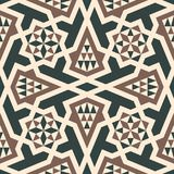 Morocco arabic seamless pattern. Traditional islamic design background Royalty Free Stock Photo