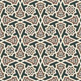 Morocco arabic seamless pattern. Traditional islamic design background Stock Images