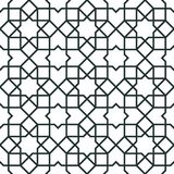 Morocco arabic seamless pattern. Traditional islamic design background Stock Photos