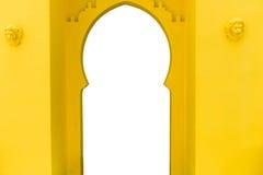 Morocco architecture style entrance Stock Photos