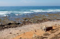 Morocco Atlantic coast Royalty Free Stock Photography