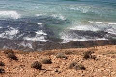 Morocco Atlantic coast Stock Images