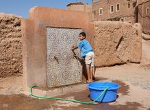 Morocco berber child Royalty Free Stock Image