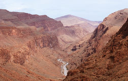 Morocco. Canyon Todra Royalty Free Stock Image