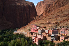 Morocco. Canyon Todra Royalty Free Stock Photo