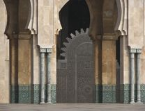 Morocco. Casablanca. Mosque of Hassan II Stock Photos
