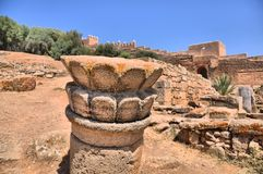 Morocco, Chellah (Sela) Royalty Free Stock Images