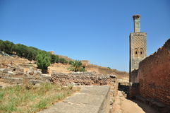 Morocco, Chellah (Sela) Stock Image