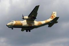 Morocco CN235 plane Royalty Free Stock Image