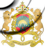 Morocco Coat of Arms. Stock Images