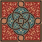 Morocco Complex Ornament. Traditional Morocco Complex Interlaced Ornament Stock Images