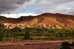 Morocco countryside Royalty Free Stock Images