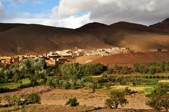 Morocco countryside Stock Image