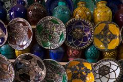 Morocco crafts Stock Image