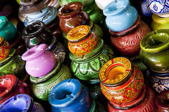 Morocco crafts Stock Photography